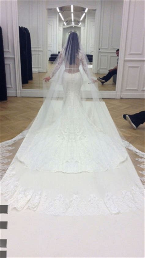 dress, givenchy, kim kardashian, kim wedding dress, haute
