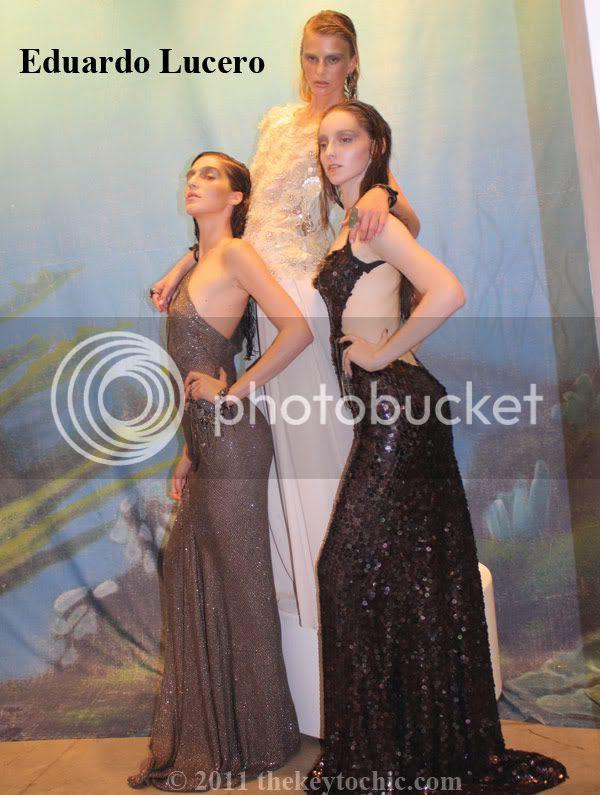 Eduardo Lucero SS2012 gowns