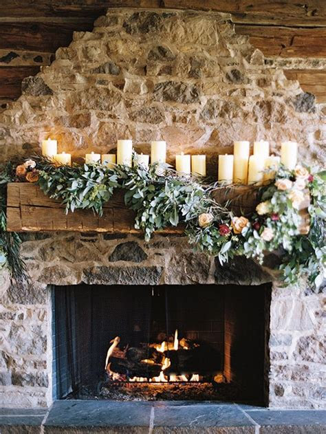 17 Best images about Mantle/Staircase/Garland Decor  on