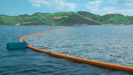 That Massive Ocean Cleaning System Is Planned to Be Launched in 2016