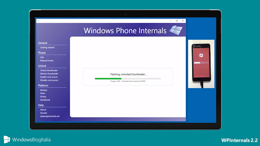 Download WPInternals 2.6 con supporto all'ultima build di Windows 10 Mobile