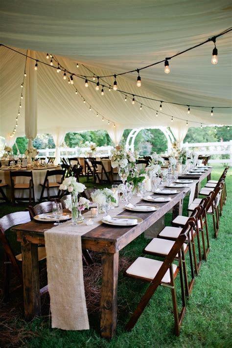 Rustic Tented Historic Cedarwood Wedding   Dazzling Decor