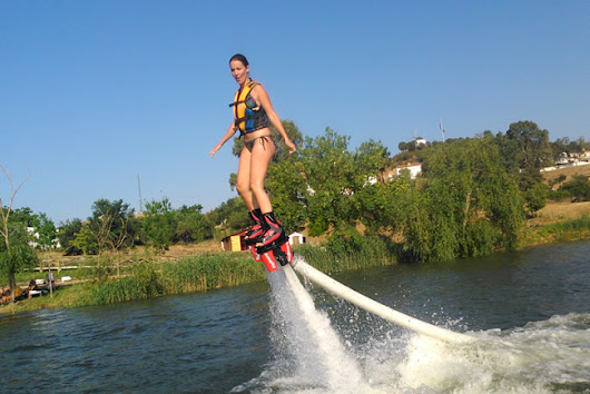 What to do in IslaCanela - Day trips - Head Up River For Flyboarding ~ Casa Chambers.