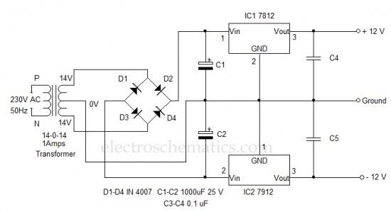 12 Volt Dual Power Supply