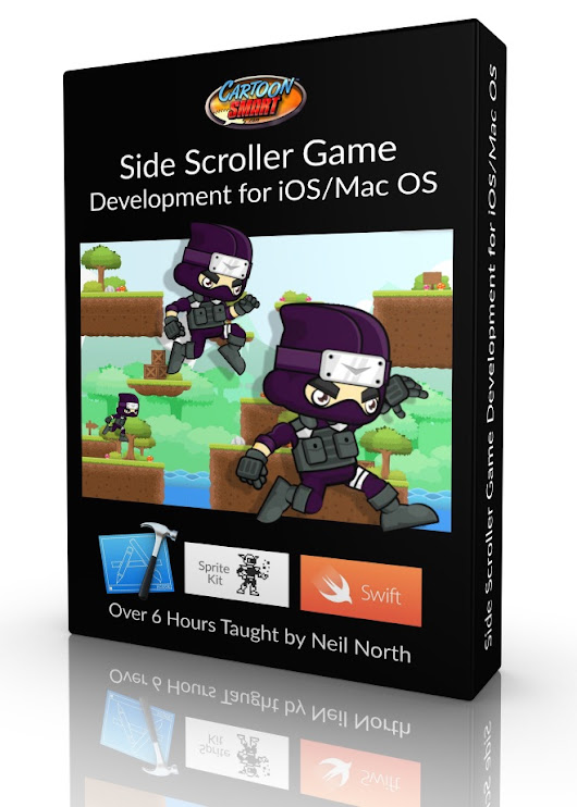 Side Scroller Game Development for iOS / Mac Os - CartoonSmart.com
