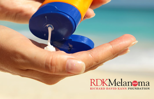 Are You Applying Sunscreen The Right Way? | RDK Melanoma Foundation