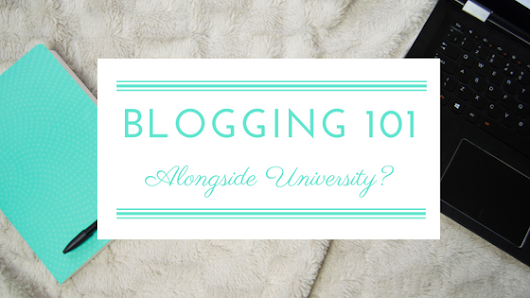 Blogging 101: Alongside University? | Uptown Oracle