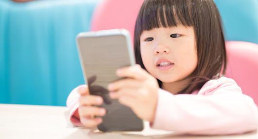 Smartphone use has been linked to a form of crossed eyes in children.