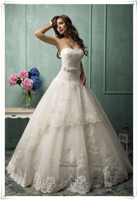 Wholesale Ball Gown Wedding Dresses   Buy New 2014