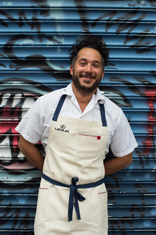 Brooklyn Chef Carlo Mirarchi is Lexus' Newest Culinary Master