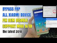 Cara Bypass Frp Lock Google Account Pada Semua Xiaomi Mengatasi Disable OEM Unlocking Tidak Bisa Di Klik