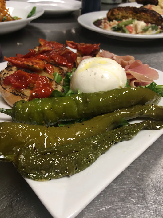 New for 2014: Summer Burrata Plate - Stefano's Restaurant