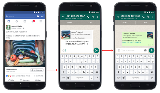 How To Add Whatsapp Send Message Button To Facebook Boosted Post – Ogbongeblog