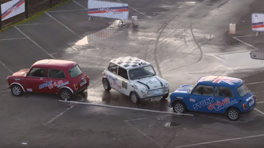 Mini driver wins Guinness parallel parking record