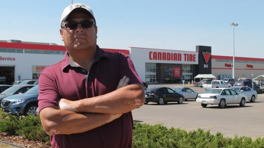 Indigenous man streams live video of confrontation at Regina Canadian Tire