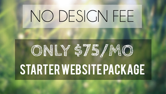 Affordable Websites – No Design Fee