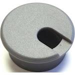 Jandorf Grommet Desk Met Slvr 1-1/2in