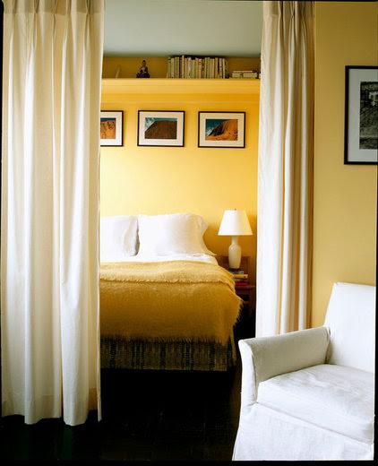 contemporary bedroom by Leslie Banker Designs