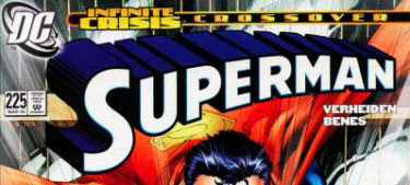 Superman #225 logo