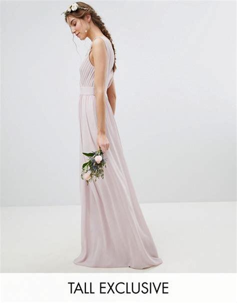 TFNC Tall   TFNC Tall Wrap Front Maxi Bridesmaid Dress