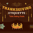 Thanksgiving Etiquette | Visual.ly