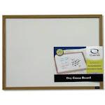 """Quartet 35-380382 Wood Frame Dry Eraser Board, 23"""" X 35"""""""