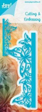 Joy Crafts! - Cutting & Embossing stencil - Rand Vlinders