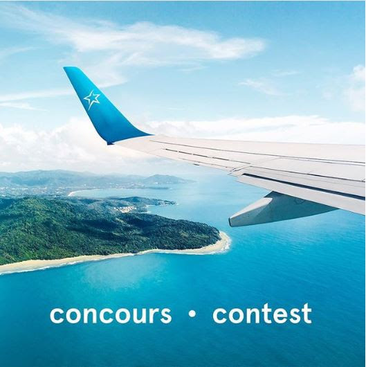 Air Transat The World From My Window Contest: Win 1 of 2 pairs of round-trip flights to a destination of your choice