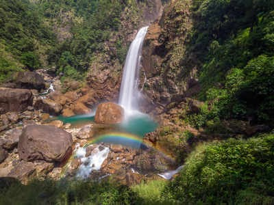 The most spectacular and highest waterfalls in India