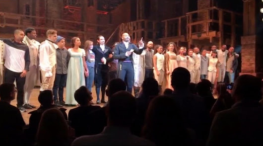 Trump demands apology from 'Hamilton' after cast's message to Pence