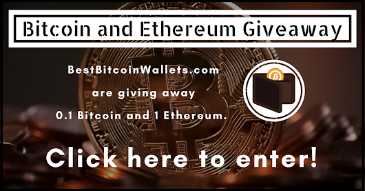 Bitcoin and Ethereum Giveaway!