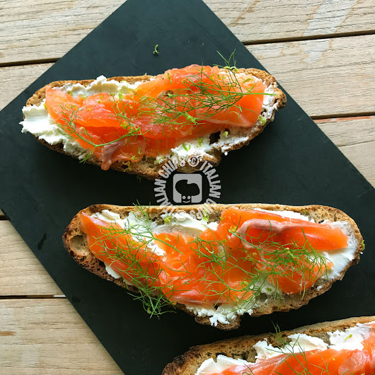Tartine con Salmone - Facili, Buone e Veloci da Fare · Italianchips