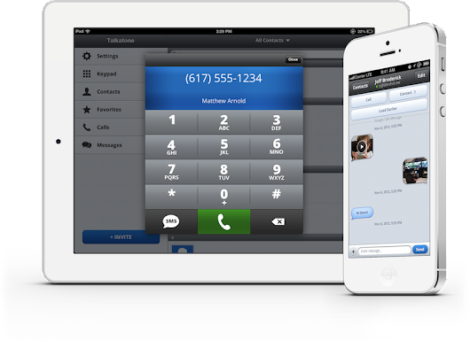 Talkatone: Free mobile VoIP calls and texts on iOS and Android