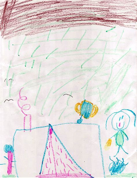 readiness  kindergarten drawing  camping
