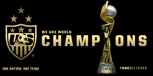 "U.S. Soccer WNT on Twitter: ""FINAL: USA 5, Japan 2. #SheBelieves the #USWNT are World Cup Champions!! """