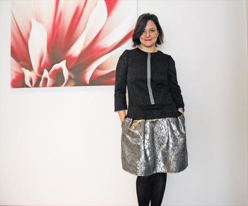 gümüş elbise dikiş moda blog