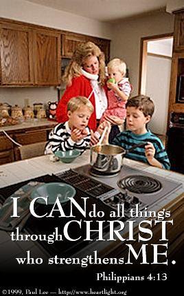 Inspirational illustration of Philippians 4:13
