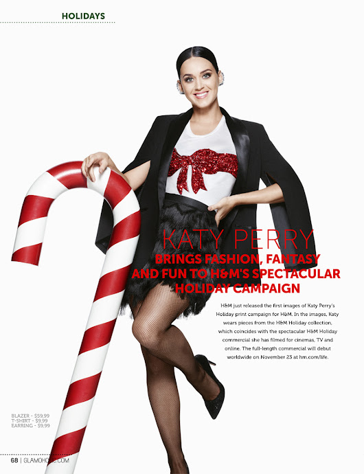 Glamoholic.com | Katy Perry Brings Fashion, Fantasy and Fun To H&M's Spectacular Holiday Campaign