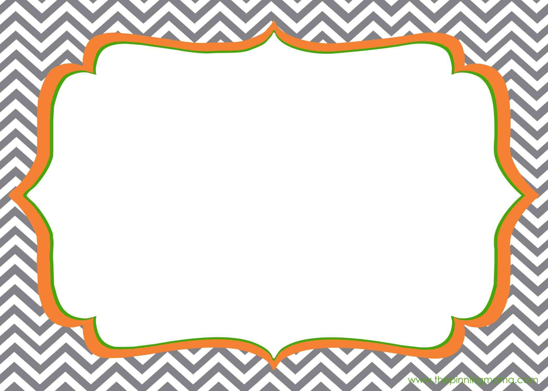 Blank Printable Invitation Cards - 2017 Invitation Cards