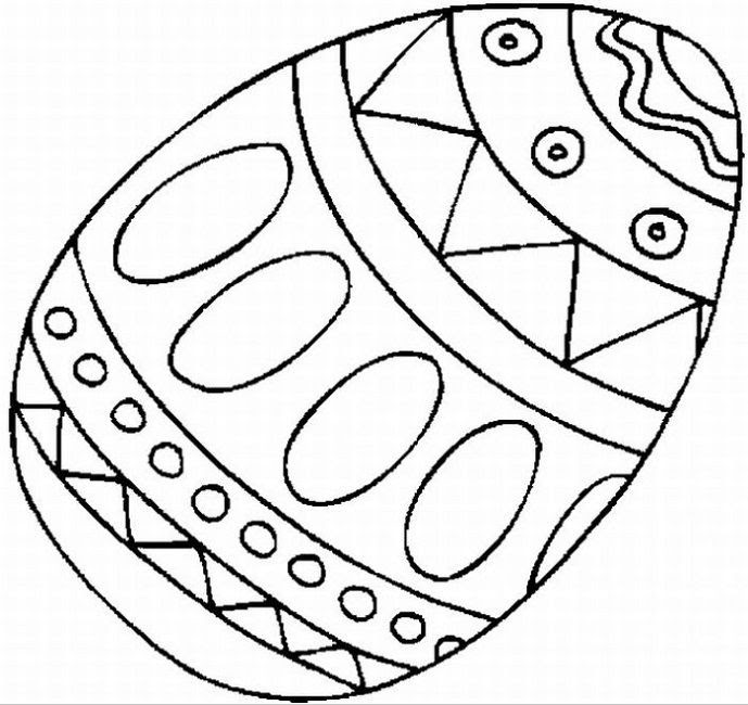 Coloring Sheets Free Printable Easter Eggs To Color All Round Hobby