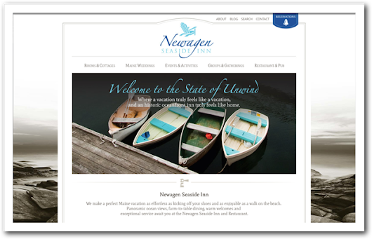 Newagen Seaside Inn Books a New Website