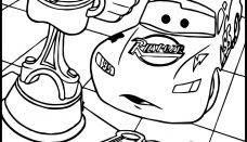 Arabalar Traktör Boyama Sayfası