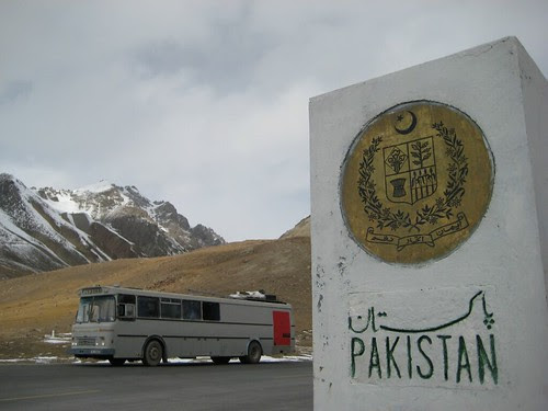 Pa vei inn i Pakistan