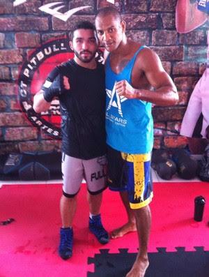RN - Marcos André Costa boxe - Patrício Pitbull (Foto: Arquivo Pessoal)