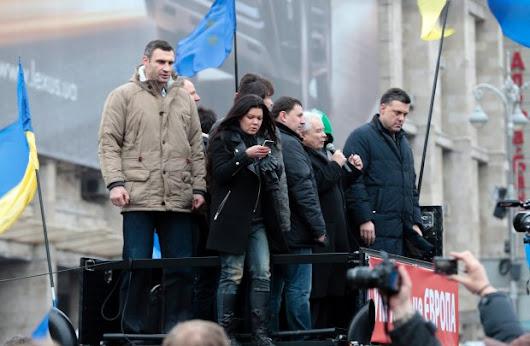 Kaczyński do Ukraińców na Majdanie: Ukraina będzie w Europie, zwyciężycie