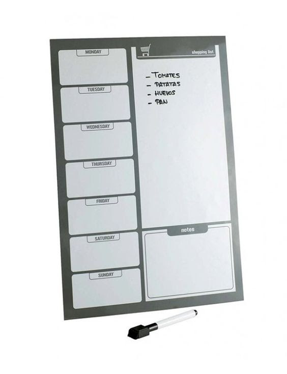 Keep up with your home or office organisation Magnetic Planner ...