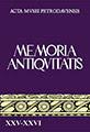 Memoria Antiqvitatis XXV-XXVI