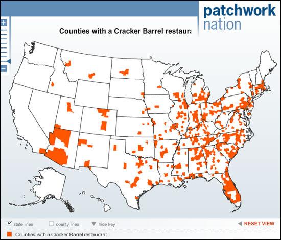 Cracker Barrel Map Cracker Barrel Locations Map | Bedroom 2018