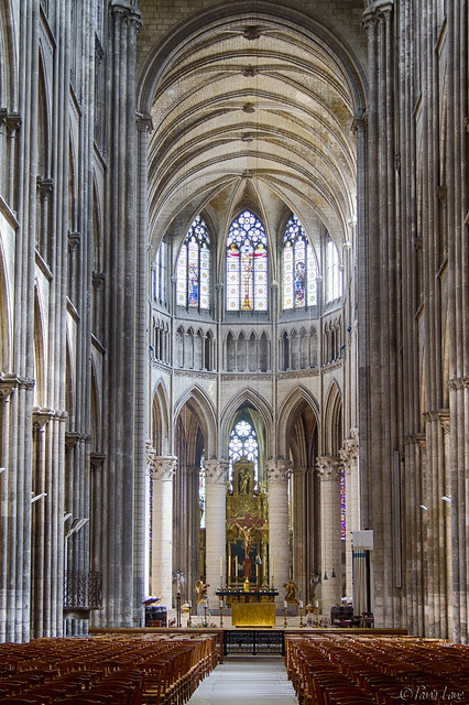 Cathédrale Notre-Dame Rouen interior