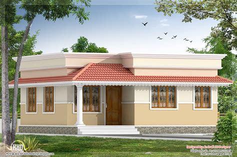 kerala style  bedroom small villa   sqft house